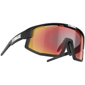 Bliz Vision Occhiali, matt black-matt black jawbone/brown-red multi